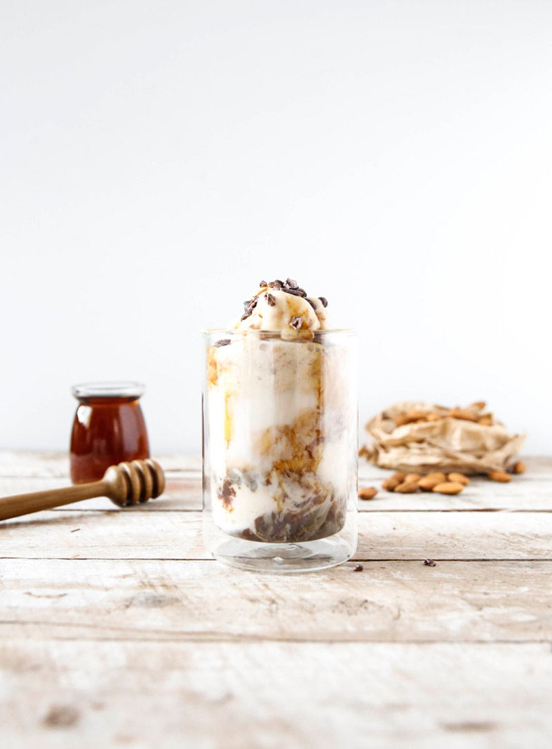 Iced Coffee Almond milk