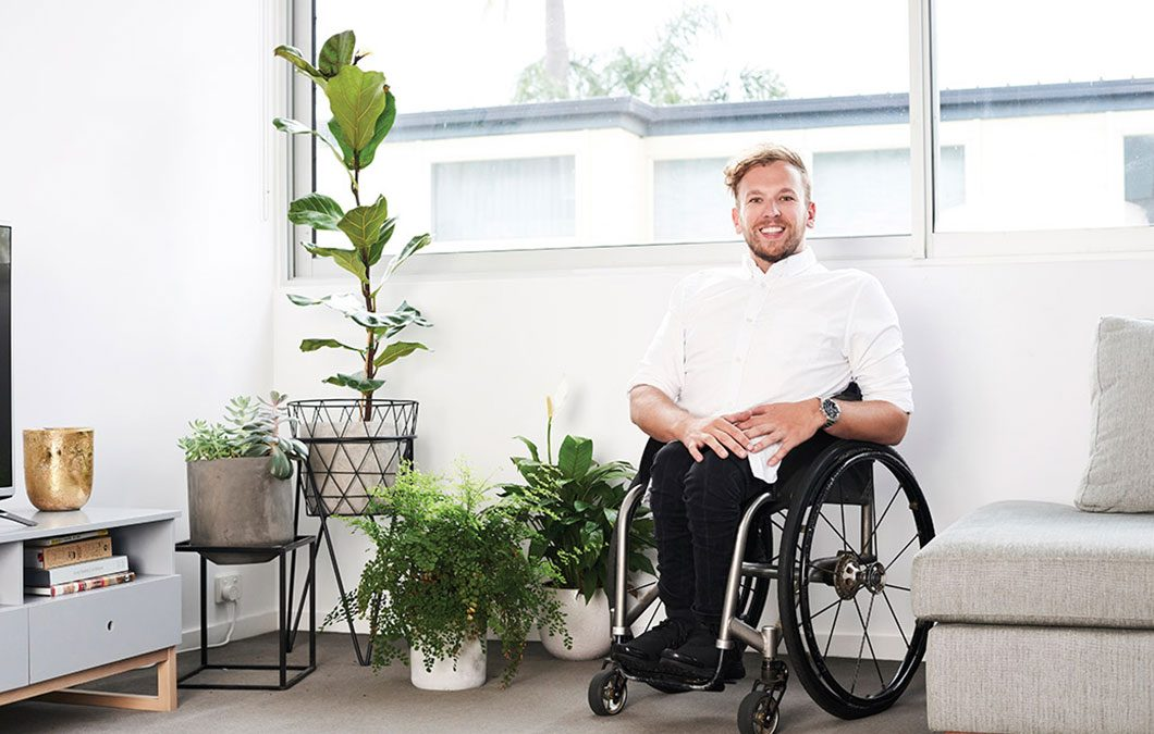 Dylan Alcott on life as a paralympian