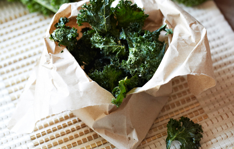 Moroccan Spiced Kale Chips