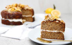 Orange Chia Seed Cake