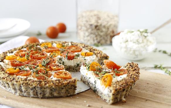 tomato-goat-cheese-tart
