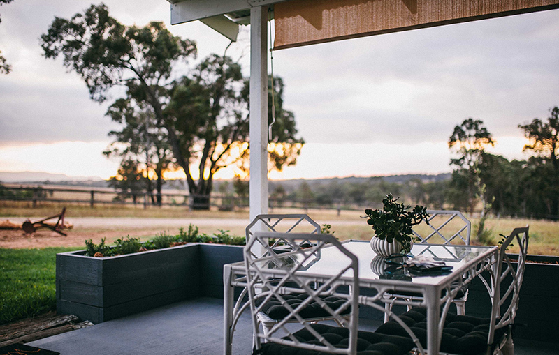 BEACHES AND VINES IN THE HUNTER VALLEY