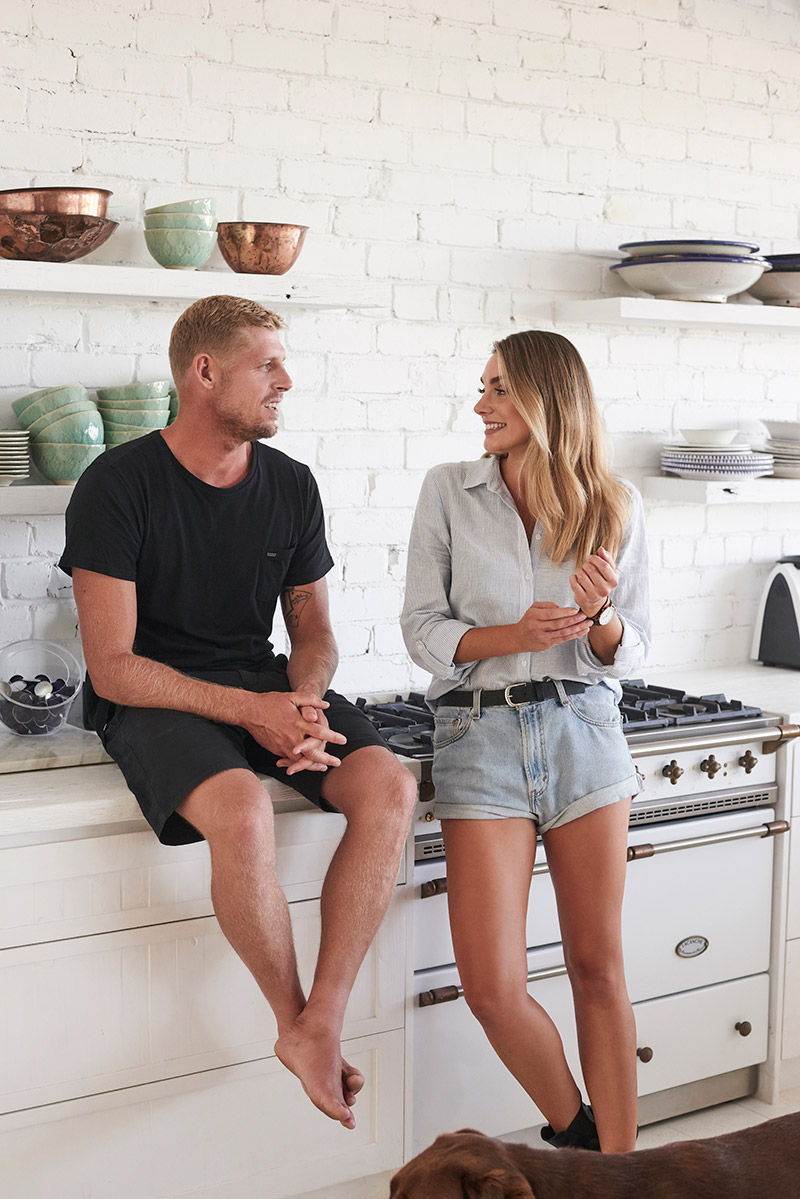 At Home With Mick Fanning A Conscious Collection
