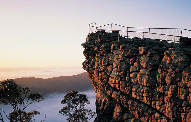 Eat, sleep, retreat in The Grampians