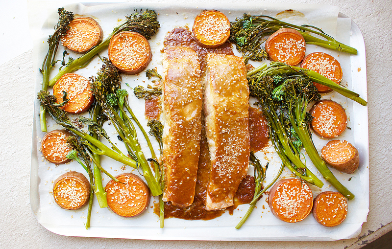 One Pan Japanese-Inspired Salmon