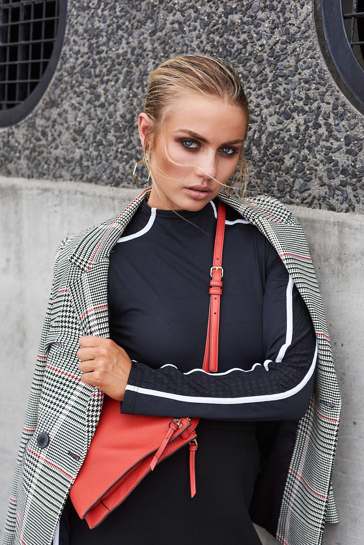 Elyse Knowles Sportluxe Editorial