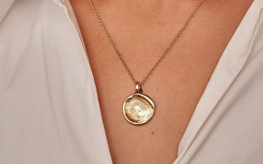 Get Personal. This unique necklace is set to be your go-to piece of jewellery this Spring.