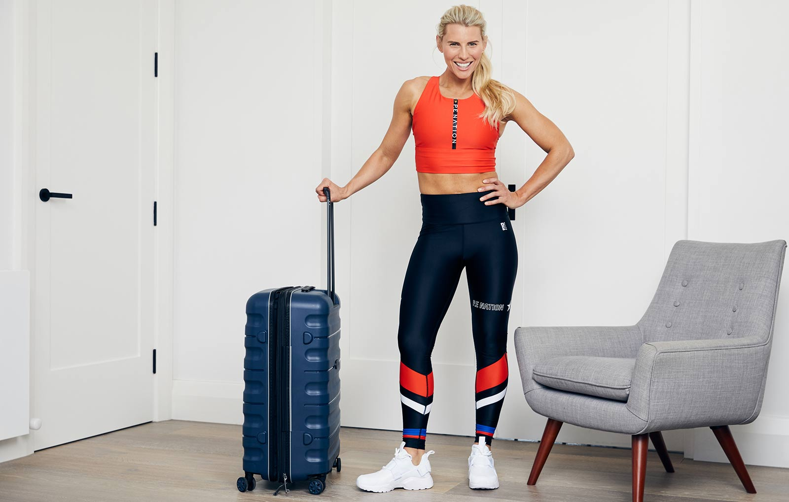Tiffiny Hall's Summer Suitcase Workout
