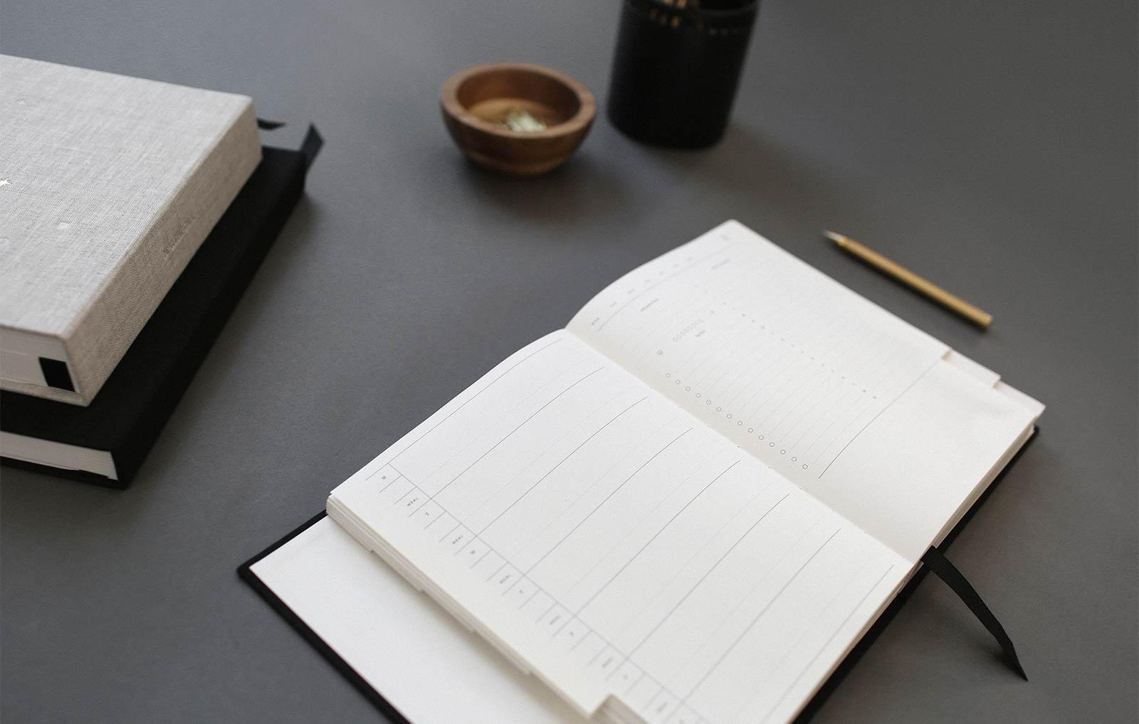 Desk-diary