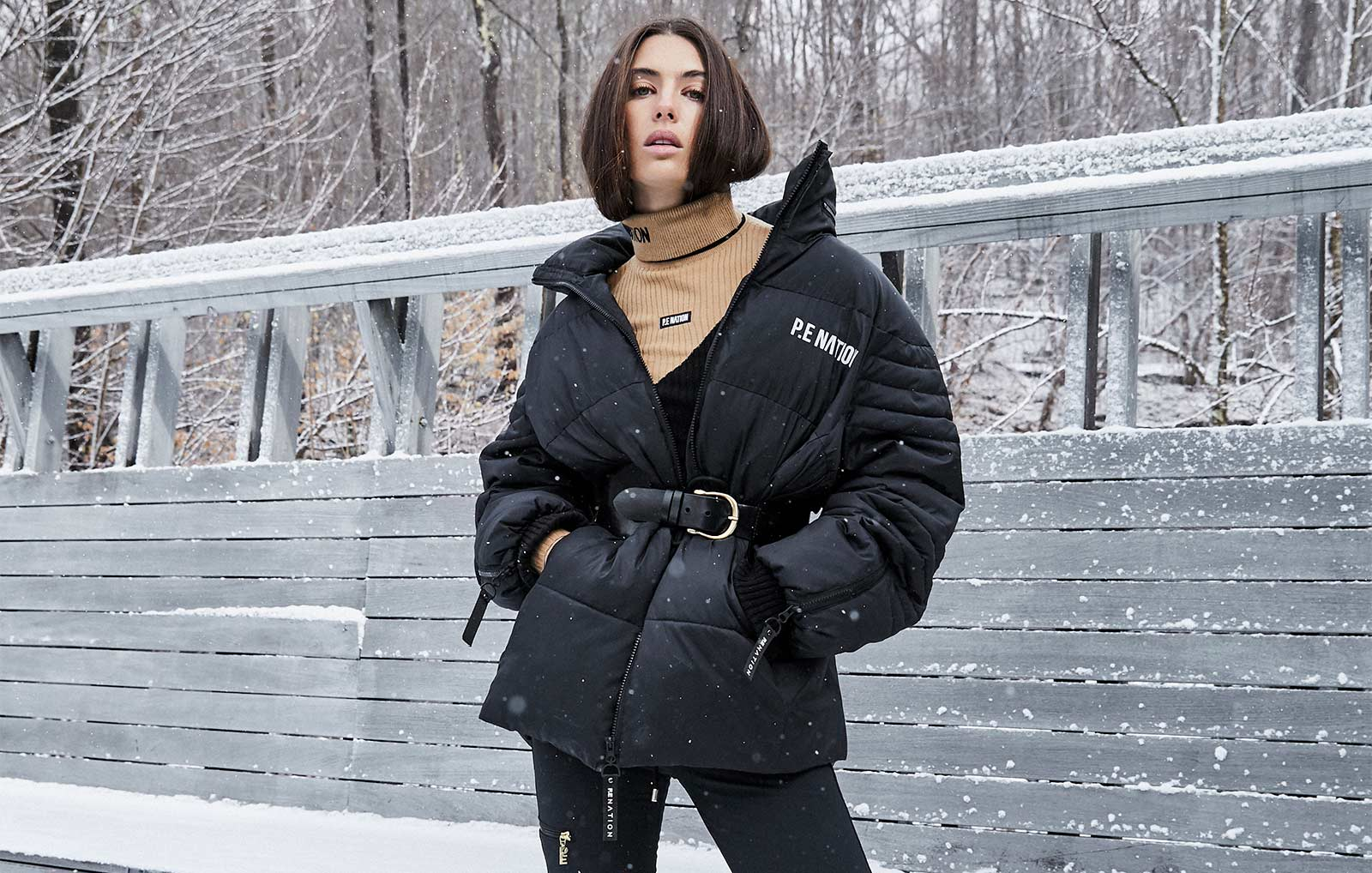 "P.E. NATION DEBUTS CUSTOM ""TRY ON"" FILTER FOR THE LAUNCH OF ""SUSTAINABLE IN SNOW"" COLLECTION"